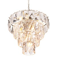 Glass Layered Chandelier | Eichholtz Amazone S