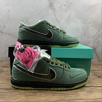 Morechoice Tuhh Concepts X Nike Dunk Low Sb Green Lobster Special Box Casual Sneaker Skate Shoes Women Men Flats Bv1310-337