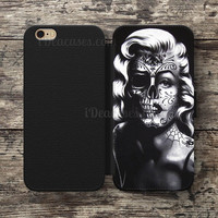 Wallet Case For iPhone 6S Plus 5S SE 5C 4S case, Samsung Galaxy S3 S4 S5 S6 Edge S7 Edge Note 3 4 5 Marilyn monroe Cases
