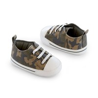 Carter's Camouflage Crib Shoes - Baby Boy (Blue)