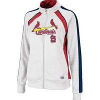 Majestic Women's St. Louis Cardinals Great Play Red Track Jacket - Dick's Sporting Goods