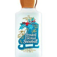 Bath & Body Works FROSTED COCONUT SNOWBALL Shea Body Lotion 8 oz