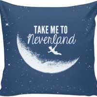Peter Pan—Neverland couch Pillow
