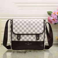 LV Women Shopping Leather Crossbody Satchel Shoulder Bag I-MYJSY-BB