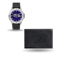 Baltimore Ravens NFL Watch and Wallet Set (Chicago Watch)