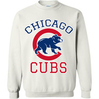 Chicago cubs World series Gildan Crewneck Sweatshirt T-shirt