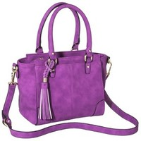 Merona® Mini Satchel Handbag with Removable Crossbody Strap - Violet