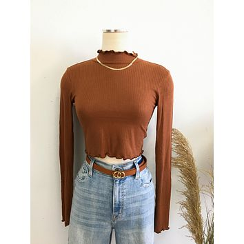 On The Mend Crop Top