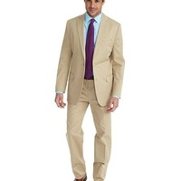 Cotton Twill Fitzgerald Fit Suit - Brooks Brothers