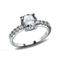 100% Austria Crystal Jewelry,S925 Sterling Silver Material with Platinum Plated,Fashion Jewelry New Style Ring OR12