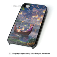 Tangled Disney Painting Art iPhone 4 4S 5 5S 5C 6 6 Plus Case , iPod 4 5 Case  , Samsung Galaxy S3 S4 S5 Note 3 Note 4 Case , and HTC One X M7 M8 Case