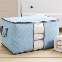 Creative Clothing Cotton Storage Stuff Bag Bags [6268652614]