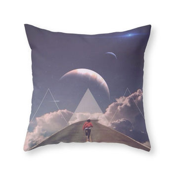 Society6 Distant Star Ru Throw Pillow