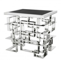 Silver Square Side Table | Eichholtz Spectre