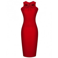 Women's Bridesmaids Formal Bodycon Evening Party Wedding Prom Dresses