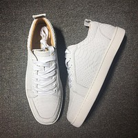 Cl Christian Louboutin Low Style #2003 Sneakers Fashion Shoes