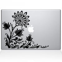 Flowery Eye Macbook Decal | Macbook Vinyl Decals | The Decal Guru