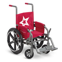 American Girl® Accessories: Berry Wheelchair for Dolls