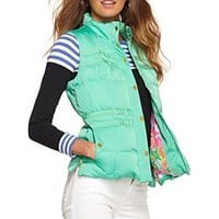 Kate Puffer Vest - Lilly Pulitzer