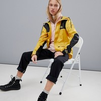 The North Face Exclusive to ASOS Mountain Jacket 1985 Seasonal Celebration in Yellow at asos.com