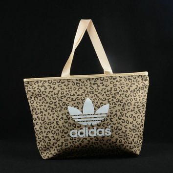 adidas Originals Tote Bag In Leopard Prints