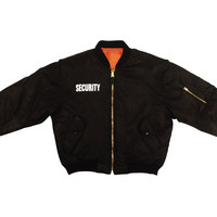 MA-1 Flight Jacket / Security