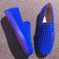 Christian Louboutin CL Flat Style #694 Online