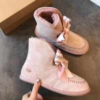 UGG Bow tie snow boots-2