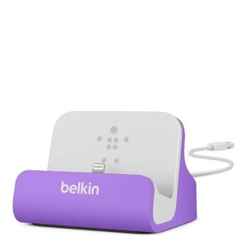 Belkin MIXIT Charge and Sync Dock with Lightning Cable Connector for iPhone 6S / 6S Plus, iPhone 6 / 6 Plus, iPhone SE, iPhone 5 / 5S / 5c and iPod touch 5th Gen (Pink)