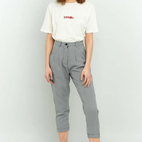 Urban Renewal Vintage Re-Made Dogtooth Trousers - Urban Outfitters