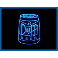 Duff Beer Bar Pub Restaurant Neon Light Sign