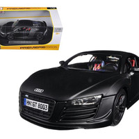 Audi R8 GT Matt Black 1-18 Diecast Car Model by Maisto
