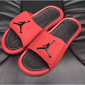 NIKE Air Jordan Hydro classic slippers flip-flop men's and women's sports sandals slippers women's outer wear Shoes