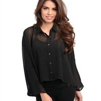 Cruel Intentions Top, Black