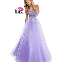 (PRE-ORDER) Flirt by Maggie Sottero 2014 Prom Dresses-Lilac Sweetheart Sequin Tulle Ball Gown