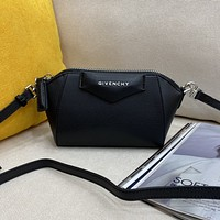 Givenchy  Women's Leather Shoulder Bag Satchel Tote Bags Crossbody18*13*7cm 0416ay