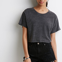 Washed Terry Knit Tee