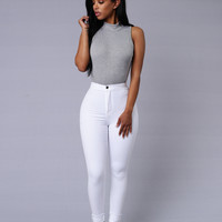 Scout's Honor Bodysuit - Heather Grey