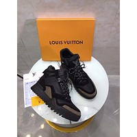 Louis Vuitton Lv Hiking High Top Men Sneaker Reference #10702