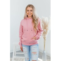 A Day For Dreaming Hoodie-Pink