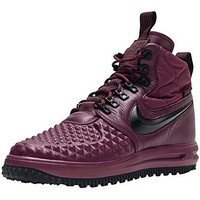 NIKE Lunar Force 1 Duckboot 17 Men Bordeaux Black 916682-601