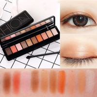 10 Colors Eyeshadow Palette Professional Makeup Eyes Palette Matte Silky Pigments Cosmetic Eye Shadow make up Nude shadows