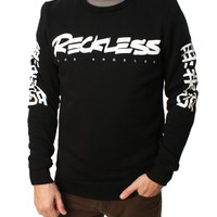 Young & Reckless Men's Little Tokyo Long Sleeve Crew Neck Sweater