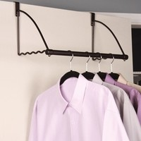 The Valet - Over the Door Closet Extender College Items Closet Supplies Dorm Organization Products Must Have Dorm Stuff