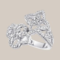 Les Ardentes You & Me Ring with Louis Vuitton cut diamonds - Louis Vuitton  - LOUISVUITTON.COM