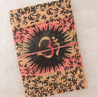 Sunburst Om Journal with Tie