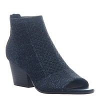 NICOLE - RAYNA in NEW BLUE Open Toe Booties