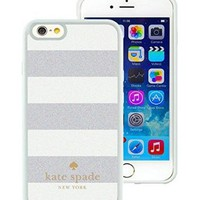 Popular And Unique Designed Kate Spade iPhone 6 White Phone Case 4.7 inch Case 011