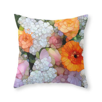 Society6 Joy Is Not In Th Throw Pillow