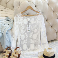 Nevada Lace Top